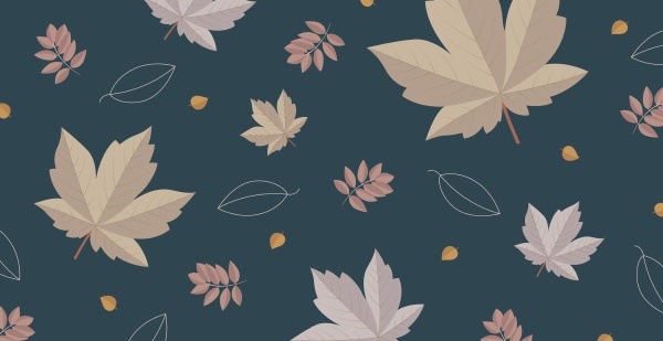 abstract autumn web background template with