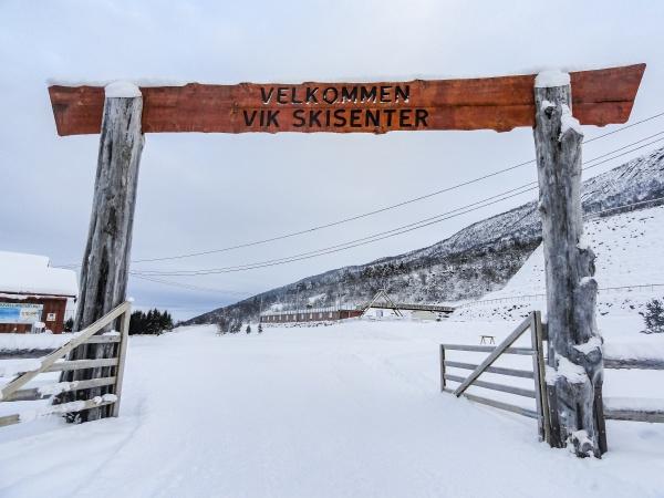 vik skisenter roysane norway wonderful entrance