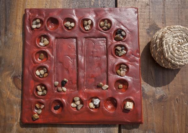 reconstruction of roman board game tabula