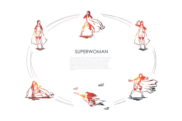 superwoman woman in superman