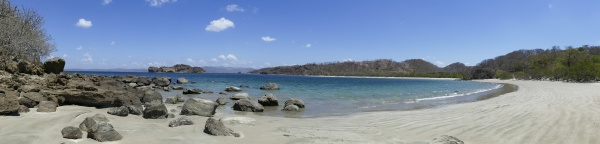 scenic playa rajada near la cruz