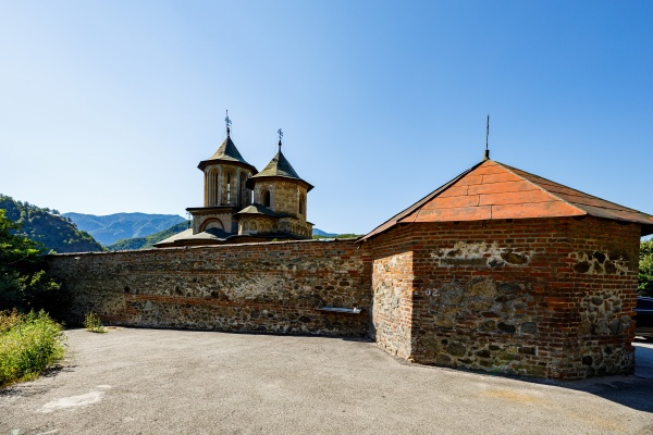the monastery of cornet in romania