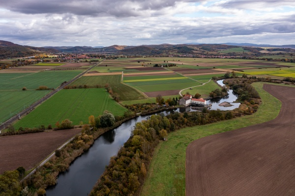 agriculture in the werra valley at