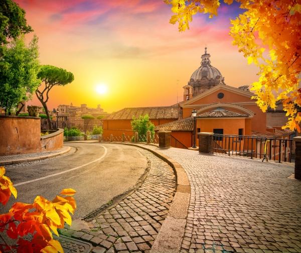 ancient stone street