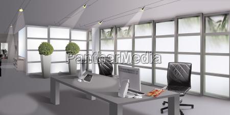 office modern time