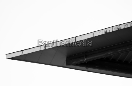 pointed roof high contrast