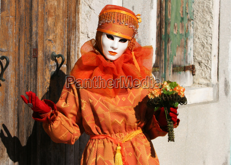 mask in burano