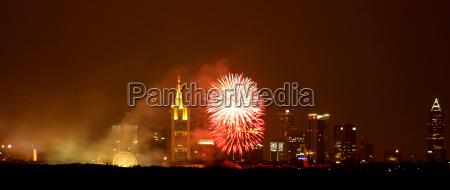 fireworks frankfurt am main