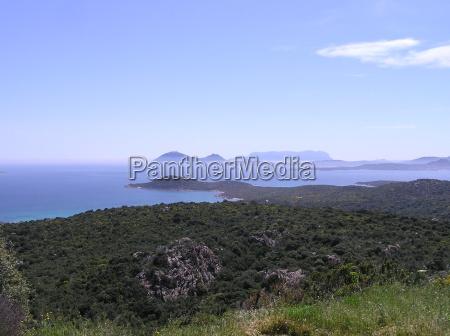 sardinia view of the island