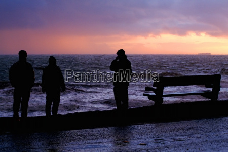 evening seaside