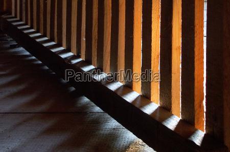 wood shadow