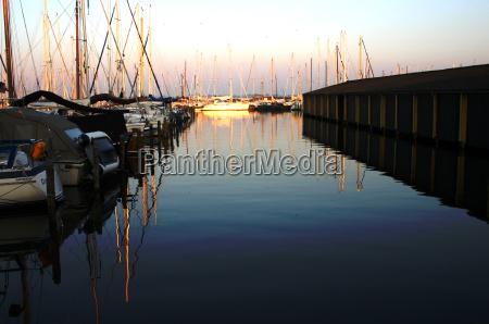 marina evening lemmer ijsselmeer
