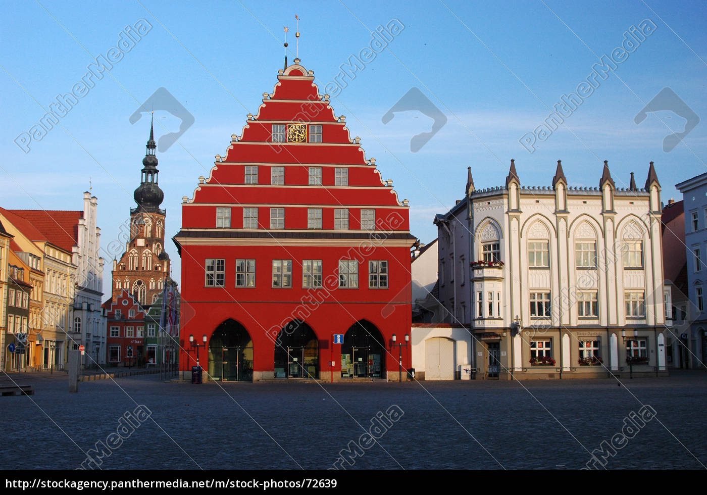 historical, market, greifswald - 72639