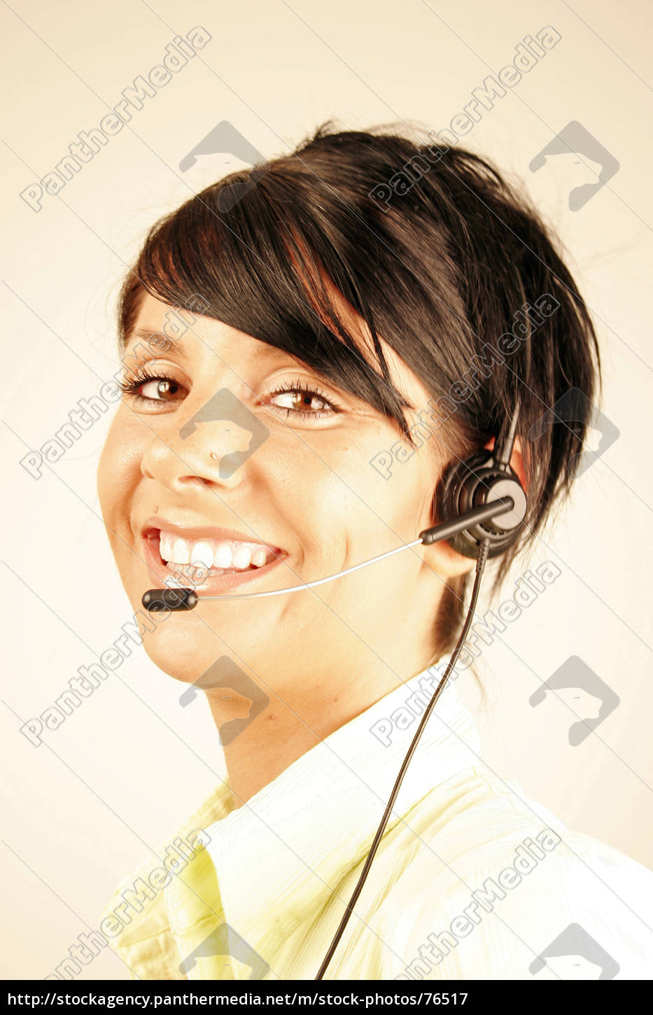 call, center, girl, 2 - 76517