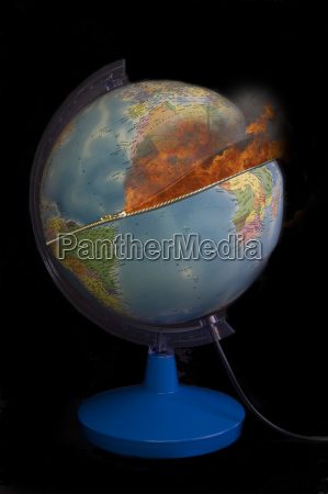 globe with zipper