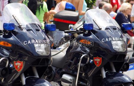 carabinieri, motorcycles - 87541