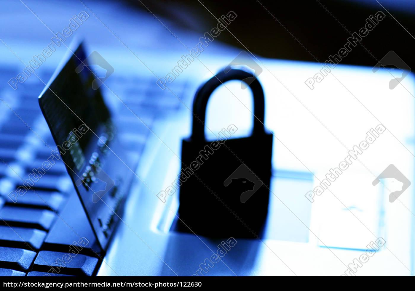secure, laptop - 122630