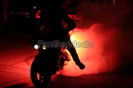 fire, bike - 126783