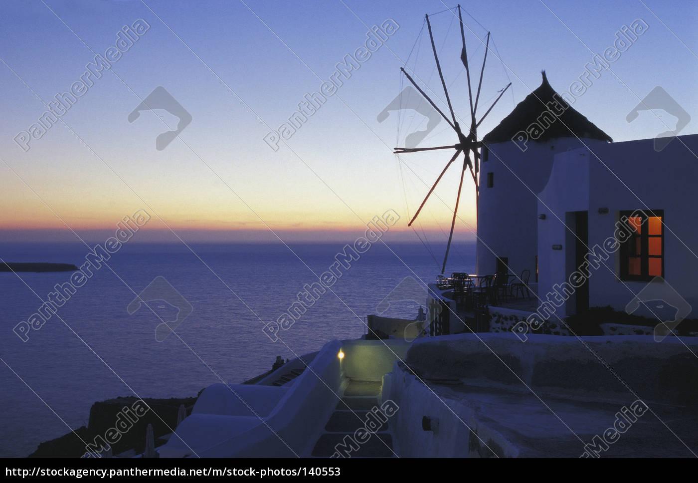 mill, in, oia, santorini - 140553