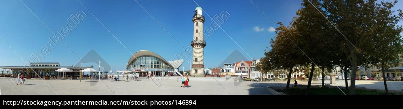 warnemünde, panorama - 146394