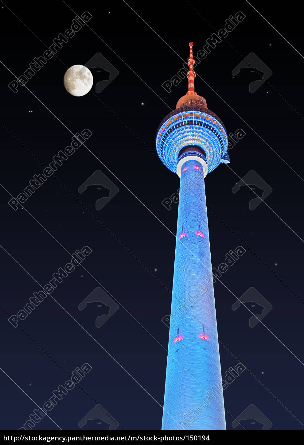 berlin, tv, tower, at, alex - 150194