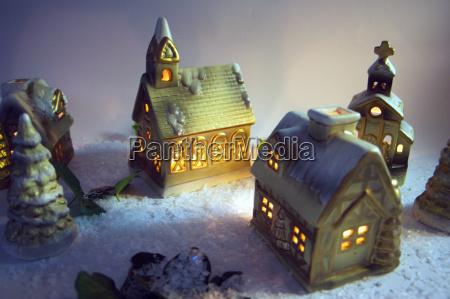 christmas, village - 162924