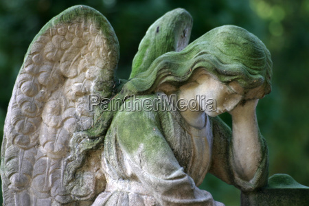 mourning, angel - 173548