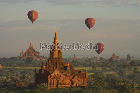 balloons, over, bagan - 179978