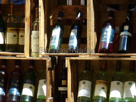 wine exposition champagne bottles boxes selection