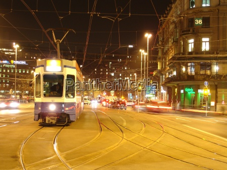 tram, station, square, zurich - 192526