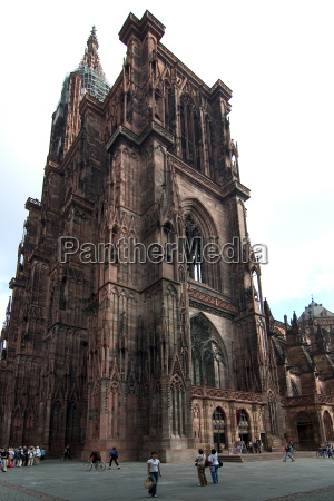 strasbourg, cathedral, 01 - 194109