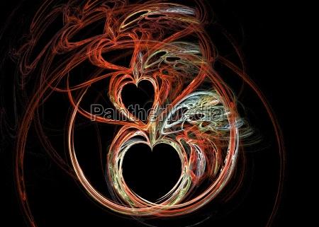 fractal heart 3
