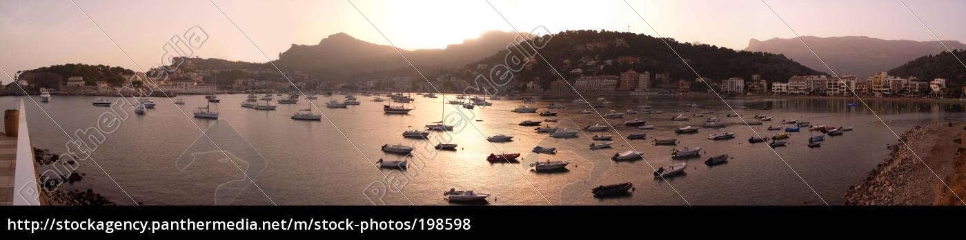port, de, soller, morning - 198598
