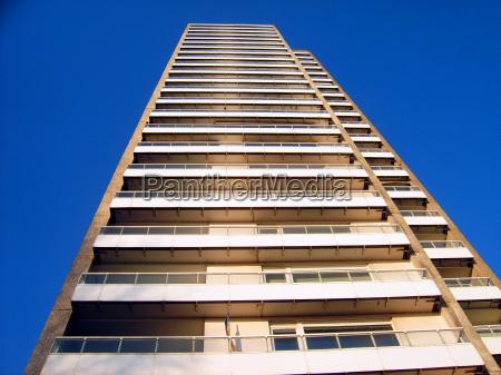 azul detalhe casa varios andares de