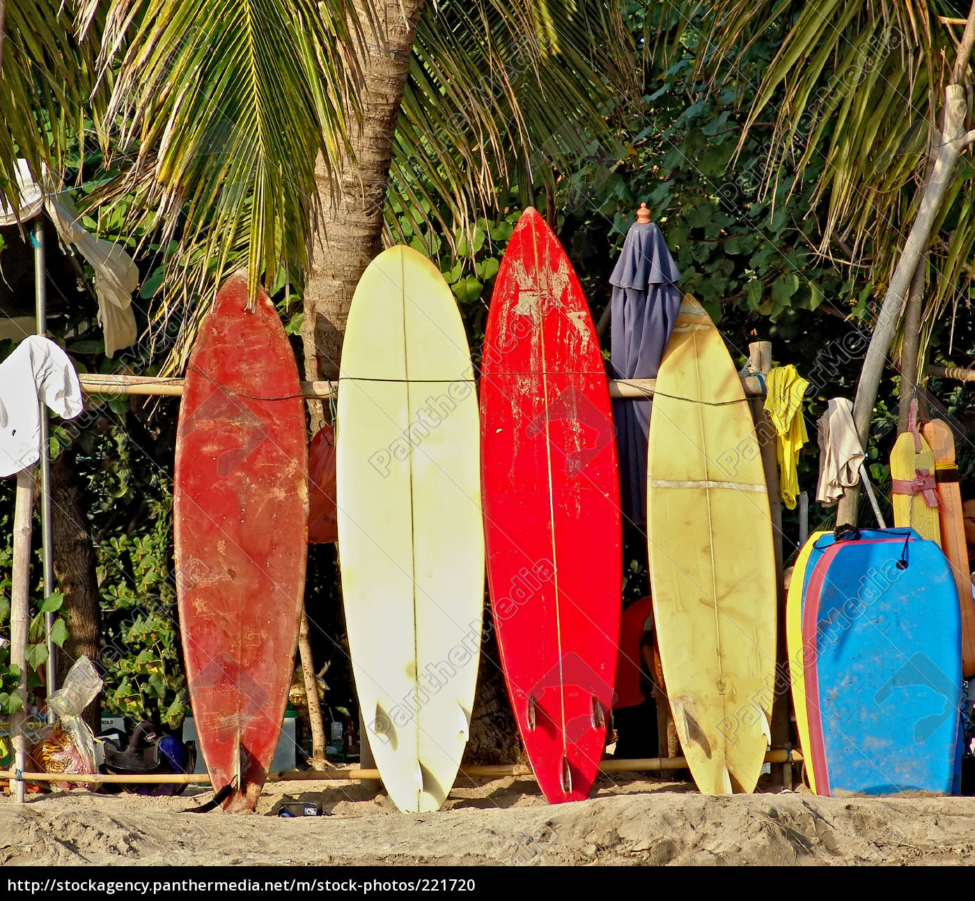 surfboards, on, the, beach, of, bali - 221720
