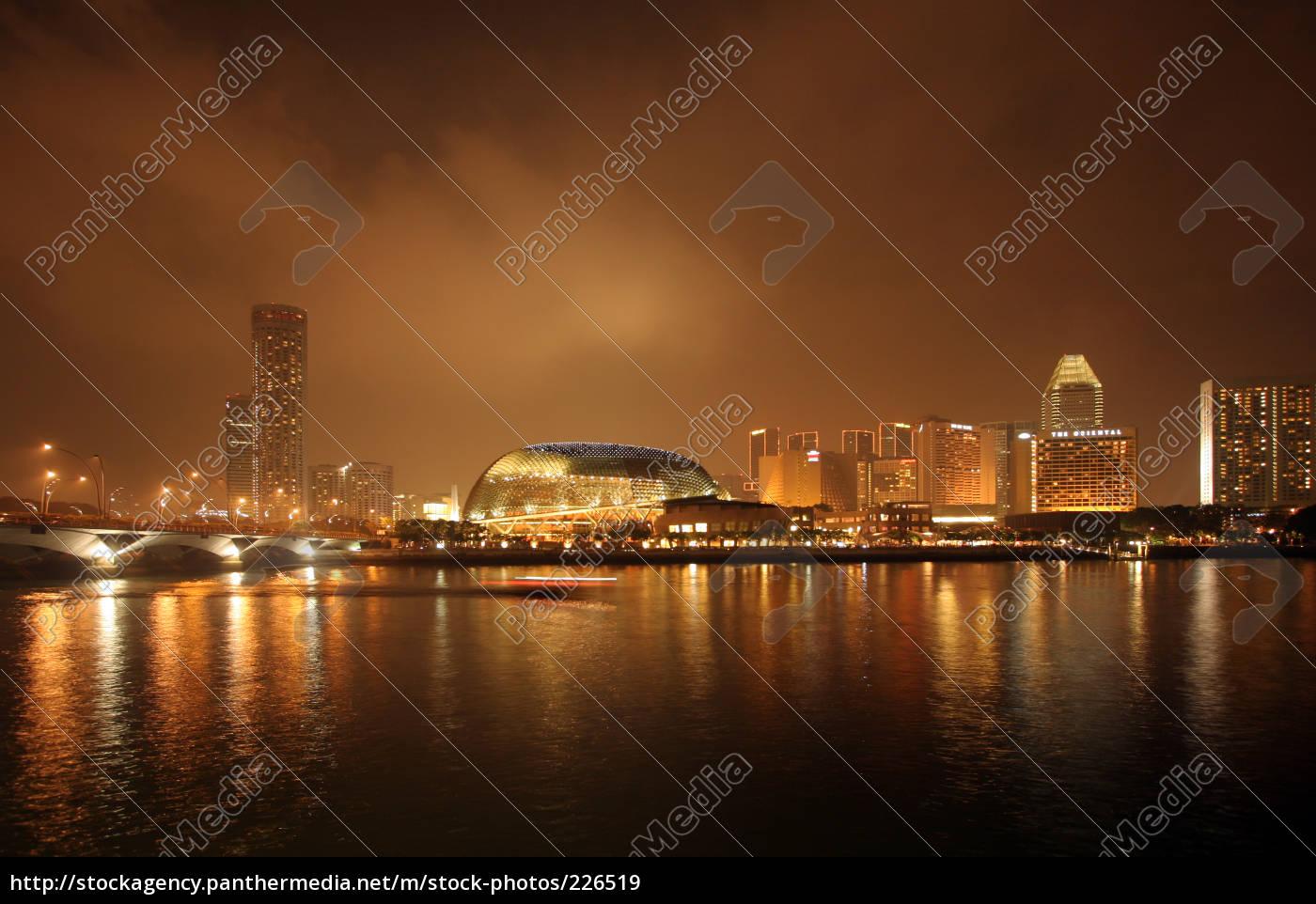 singapore, at, night - 226519