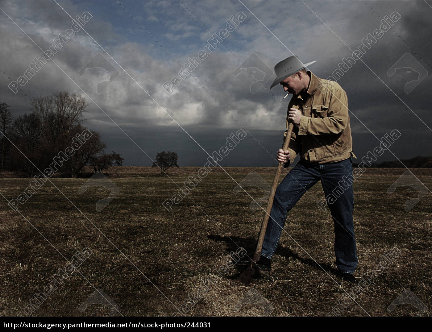 digging, a, grave - 244031