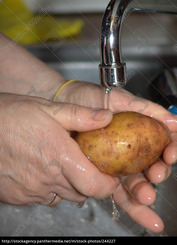 peeling, potatoes - 244227