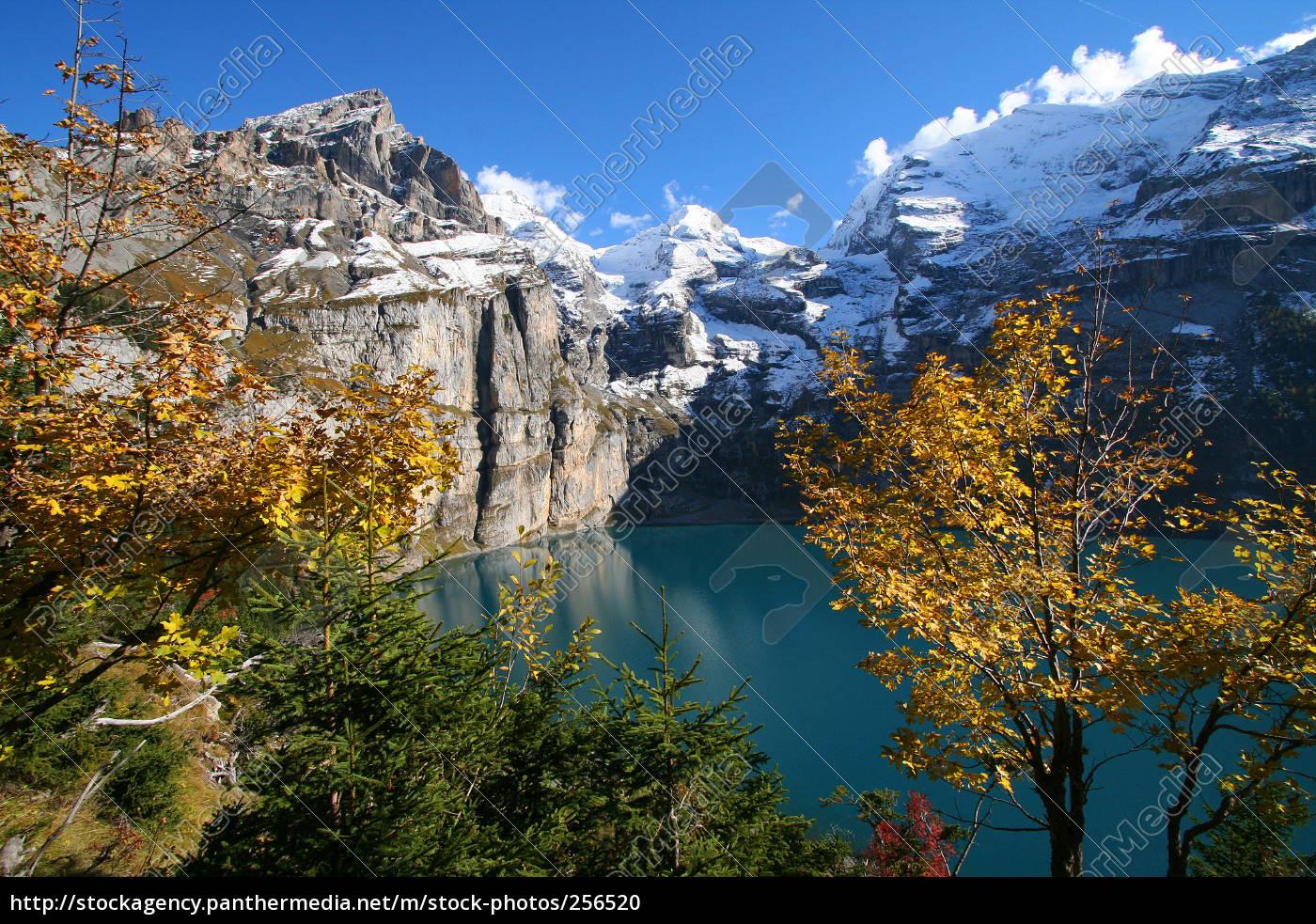 autumn, day, at, oeschinensee - 256520