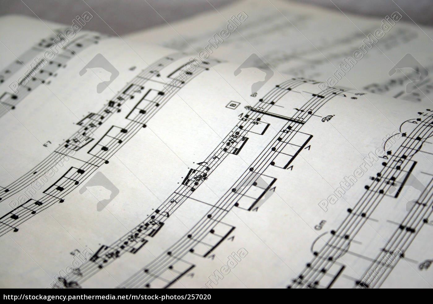 piano, sheet, music - 257020