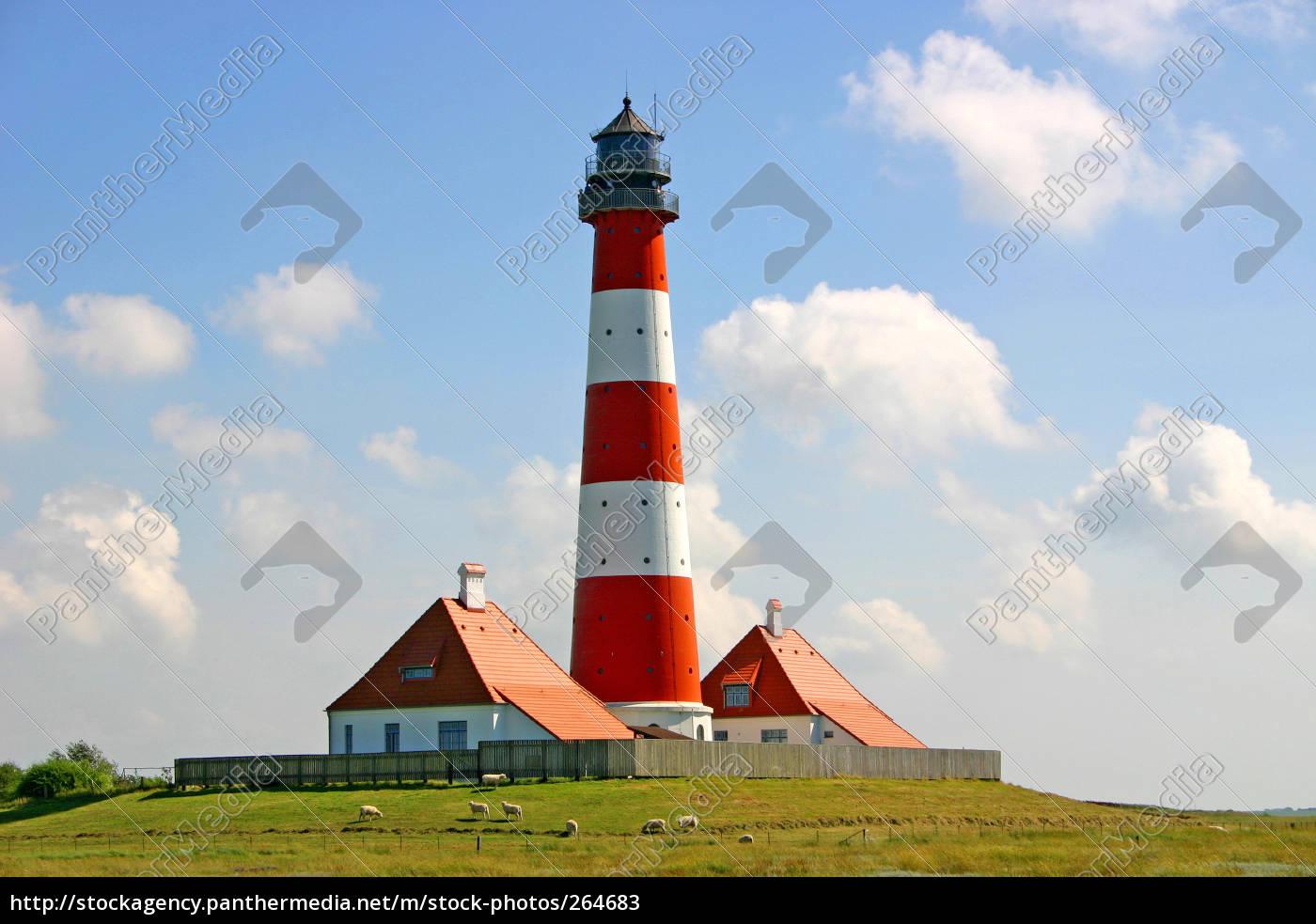 lighthouse, westerhever - 264683