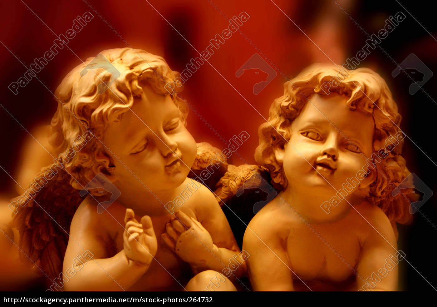 two, decorative, angels - 264732