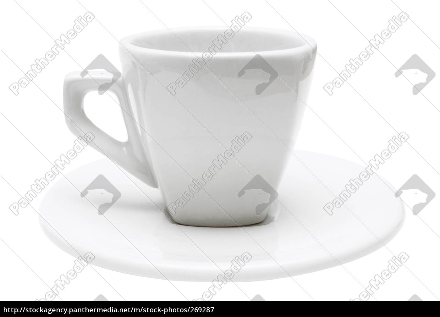 espressotasse, with, clipping, path - 269287