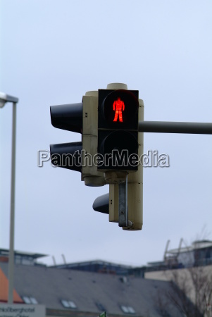 traffic light pedestrian red 1