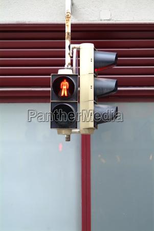 traffic light red fussgaenger 2