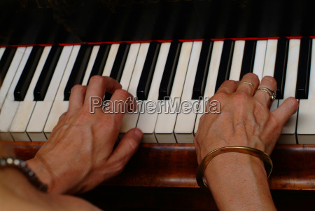 carved into the keys