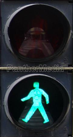 traffic, light, green, fussgaenger, 3 - 280514