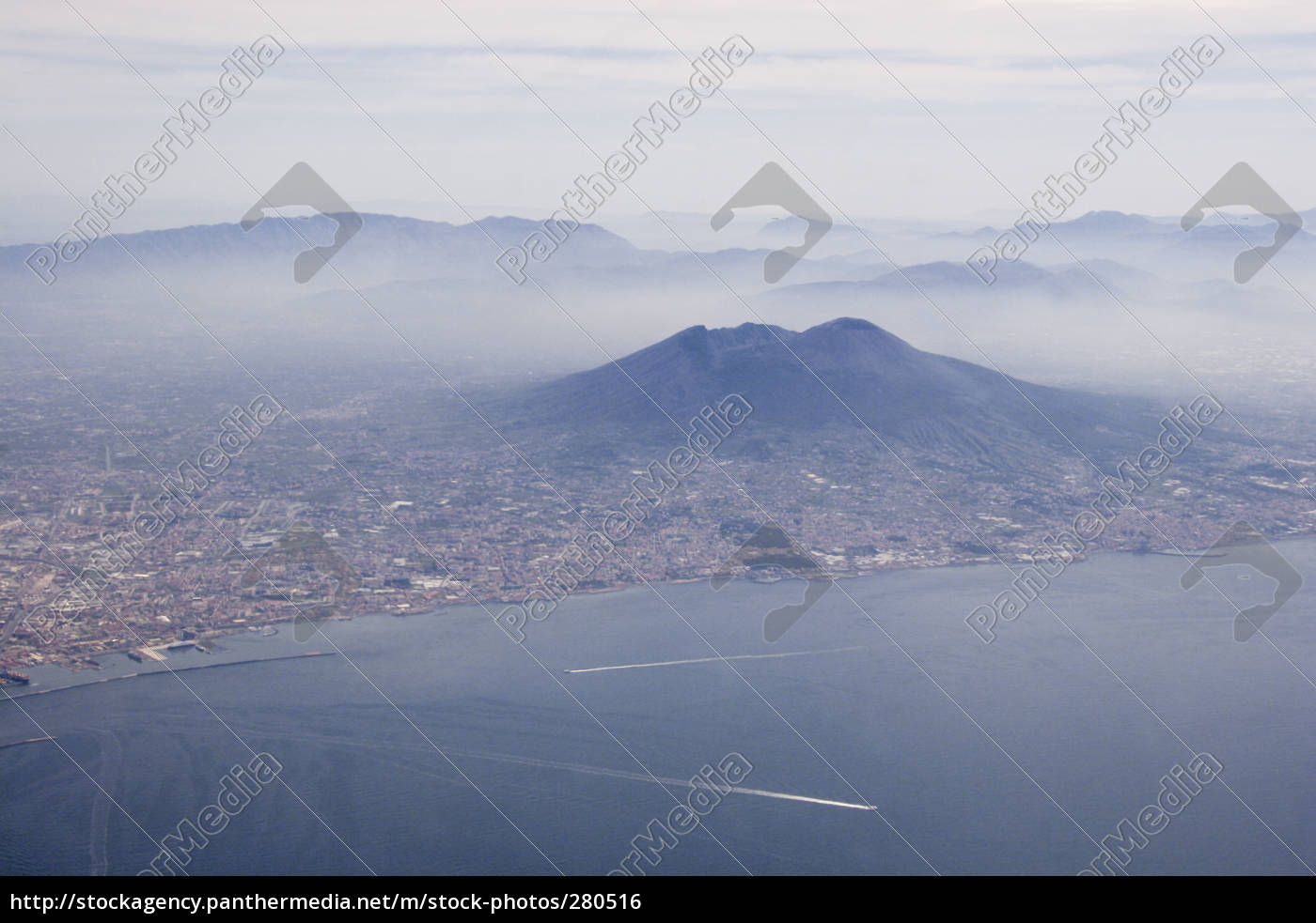 vesuvius, and, naples, from, above - 280516