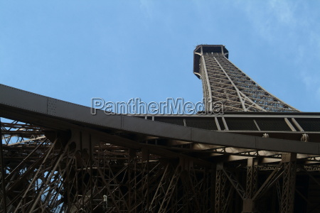 eiffel tower from below