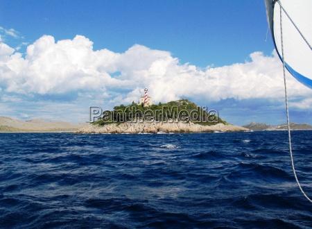 island in the kornati no 1